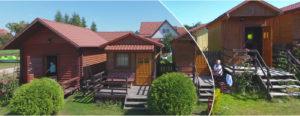 Domki letniskowe, Ukta, Kajaki Centrum, Mazury