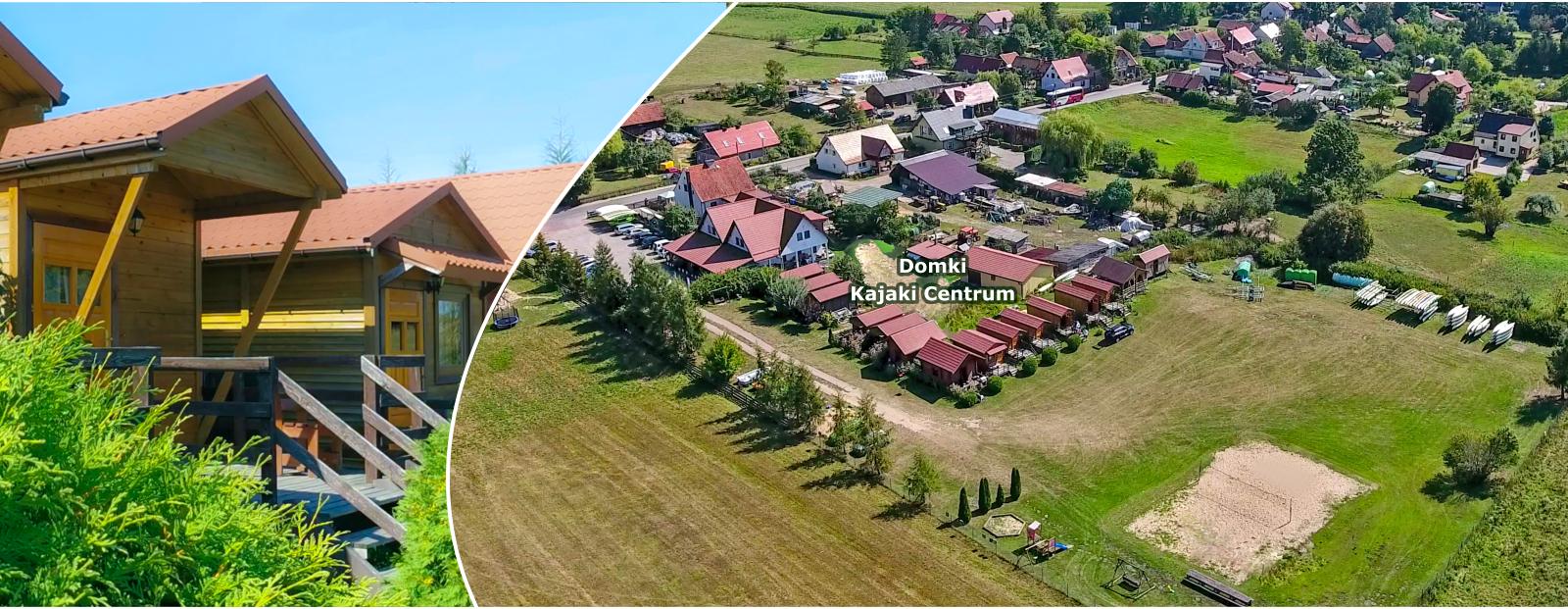 Domki letniskowe Ukta, noclegi na Mazurach