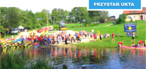 Spływy kajakowe na Mazurach, Kajaki Centrum Ukta